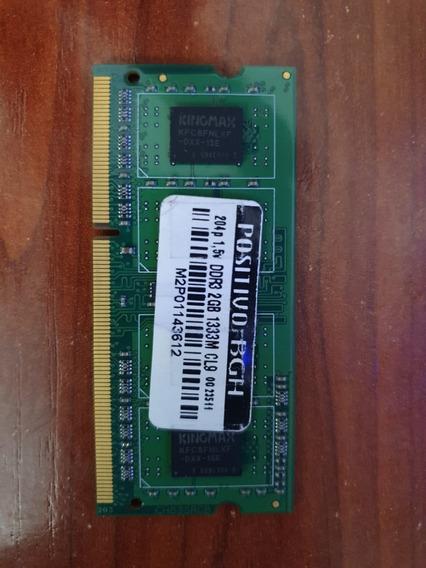 Ram 2 Gb Ddr3 1333 Noteboock