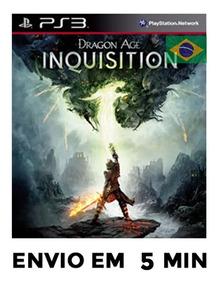 Dragon Age Inquisition Português Ps3 Psn Envio Agora