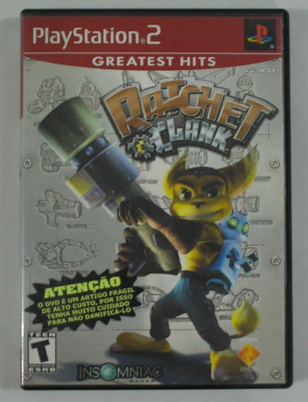 Ratchet Clank Ps2 Original Usado