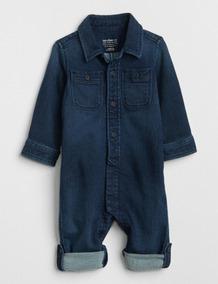 Gap. Macacao Jeans Gap Baby