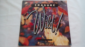 Lp - Erasure - Wild - 1989
