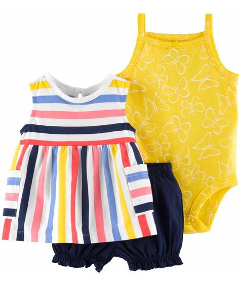 Conjunto Short Carters Bebé Niña