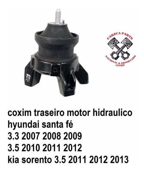Coxim Traseiro Motor Hyundai Santa Fé Kia Sorento Hidraulico