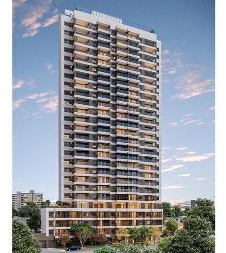 Apartamento Para Venda Em São Paulo, Brooklin Paulista, 1 Dormitório, 1 Suíte, 2 Banheiros, 1 Vaga - Cap3130_1-1403937