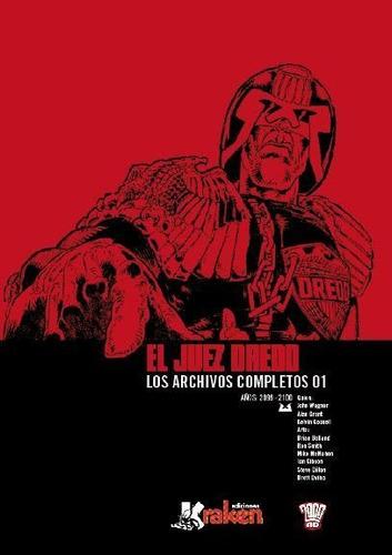 Juez Dredd Los Archivos Completos 1, Aa.vv., Kraken
