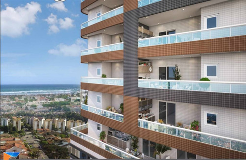 Imagem 1 de 9 de Apartamento - Venda - Forte - Praia Grande - Scp120