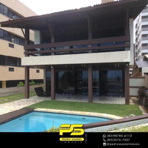 Casa Com 4 Dormitórios À Venda, 530 M² Por R$ 2.500.000 - Intermares - Cabedelo/pb - Ca0658