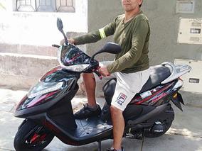 Italika Vgo125 Negro Con Rojo