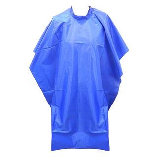 Capa Profesional Peluqueria Tintura Alisado Azul 100 X 130cm
