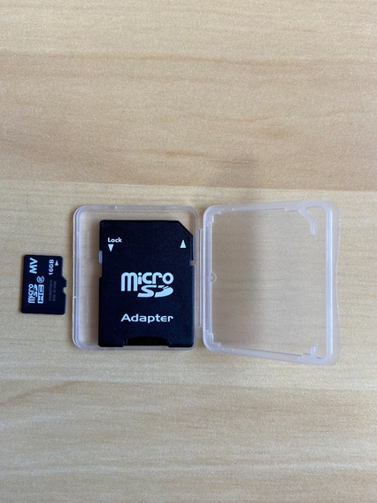 Micro Cartão Sd Card 16gb Com Adaptador