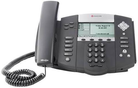 Telefone Voip Sip Polycom Ip550 - Sem Fonte De Alimentação
