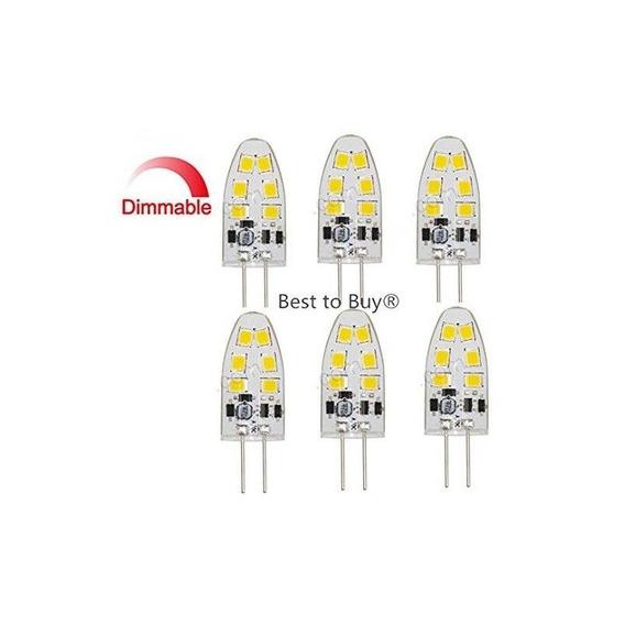 Best Para Comprar (6-pack) Regulable 1.8-watt T4g4led Foco