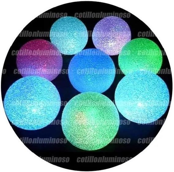 Esfera Vela Led Chica Ideal Decorar Hogar Cotillon Luminoso
