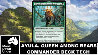 Deck Commander Ayula, Deck Tribal De Urso.