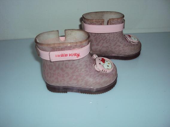 Bota Infantil Menina Rosa Grendene Hello Kitty Tam 17 / 18