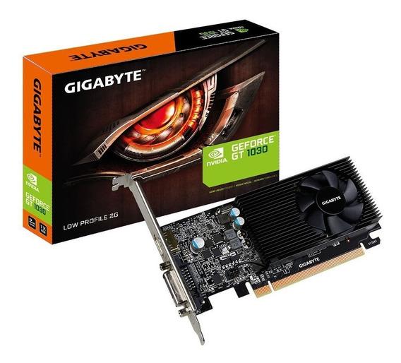 Placa De Vídeo Nvidia Geforce Gt 1030 2gb Gddr5 Gigabyte