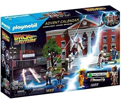 Playmobil Back To The Future - Calendario De Adviento