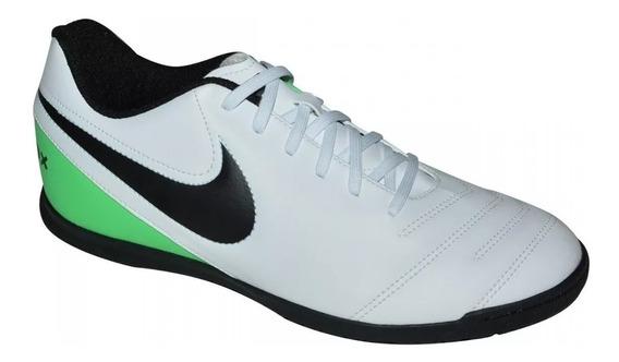 Chuteira Tênis Nike Futsal Tiempox Rio Iii 9202 Leve Costura