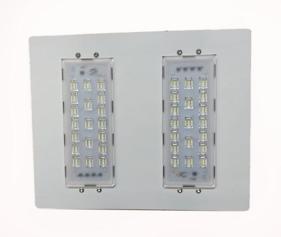 Luminária Led Postos De Gasolina/ Galpões 2 Modulo 100w