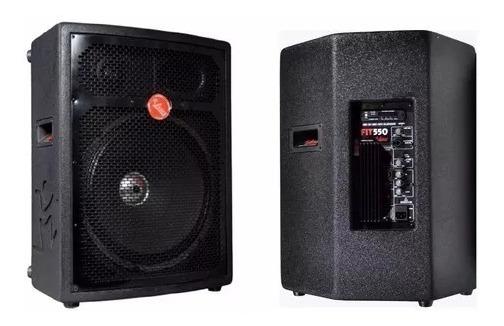 Caixa De Som Amplificada 250w Fit 550a Leacs
