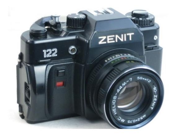 Câmera Vintage Zenith 122 # Impecável# Estado Okm # Raridade