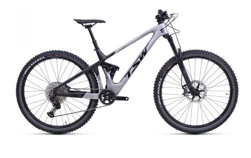 Imagem 1 de 10 de Bicicleta Carbono Tsw All Quest Full Suspension Enduro