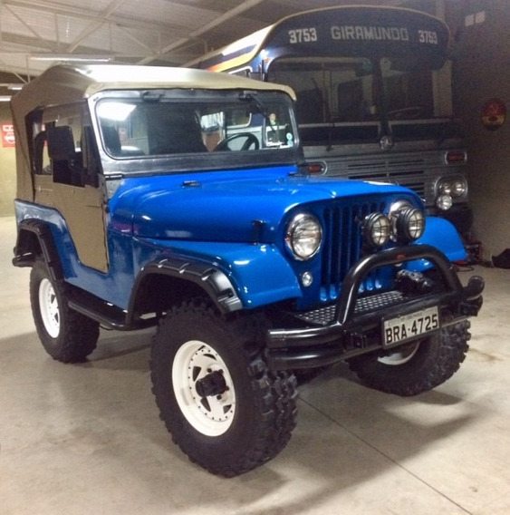 Vendo Jeep Ford 1976 4 Cc Motor Maverick, Todo Revisado.