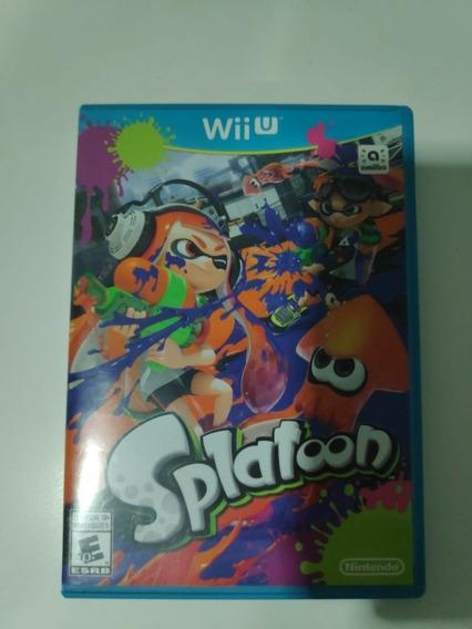 Splatoon Nintendo Wii U. Midia Fisica. Europeu! Leia!