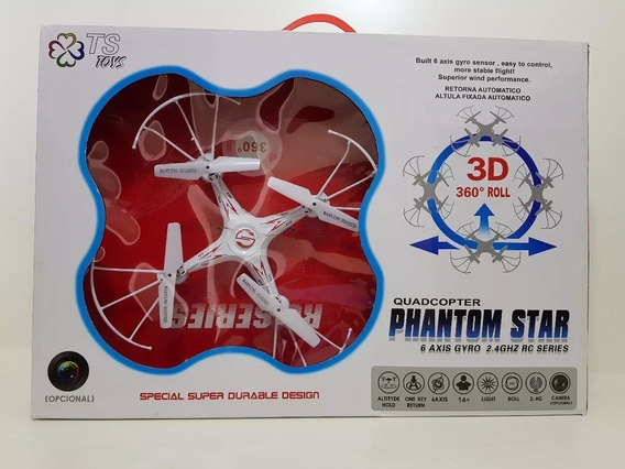 Drone Quadcopter Phantom Star 3d 360 º