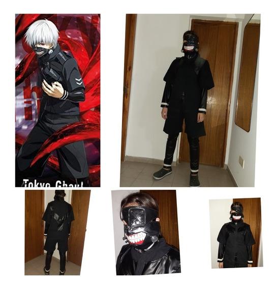Traje Kaneki Tokyo Ghoul.