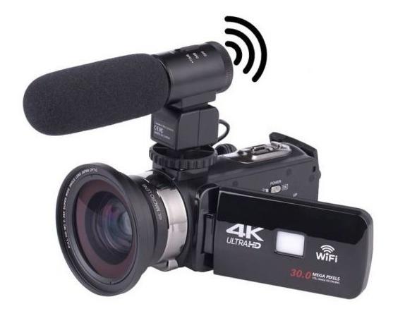 Câmera Filmadora 4k