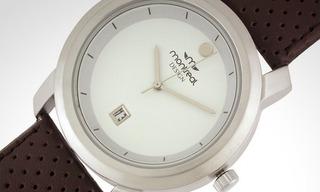 Reloj Caballero Montreal Modelo 36116 Color Marrón