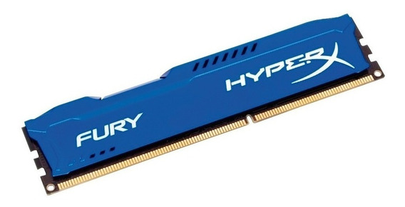 Memória Gamer 8gb Ddr3 1600 Mhz Kingston Hyperx Fury