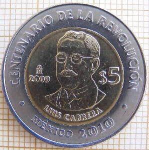 Monedas Del Centenario De La Revolución