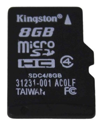 Imagem 1 de 2 de Microsd Kingston Sdc4 / 8gb