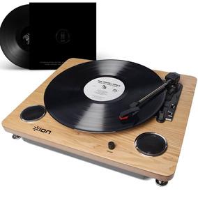Toca-discos Vitrola Retro Conversor Digital Via Usb E Rca
