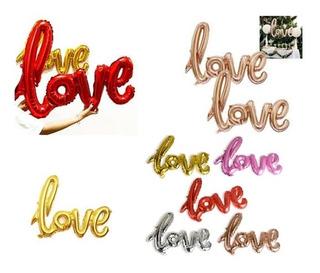 Balao Love Metalizado Surpresa Romantica Decoração