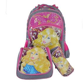 Mochila C/ Rodinhas Em Gel Escolar Infantil Masculina Kit