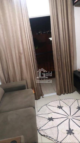 Apartamento Com 2 Dormitórios À Venda, 56 M² Por R$ 220.000 - Residencial Greenville - Ribeirão Preto/sp - Ap3104