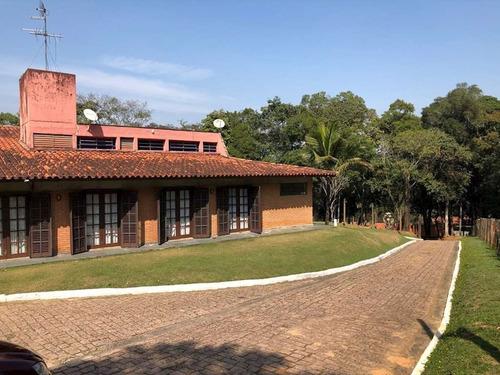 Casa Fazendinha - 6.500 M2, 5 Sts, 2 Piscinas, Hospedes, Cocheira! - 1437