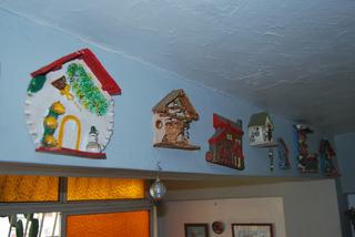 Figuras Ceramicas Casas Adorno Arcilla