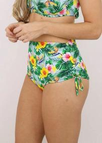 Sunkini Shorts Avulso Praia Cores Estampadas Plus Sizeb17