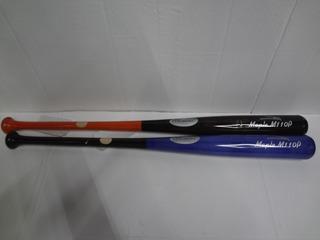 Bat Beisbol Maple Prof #33.5 Y #34.5 Palomares Genuino Fpx