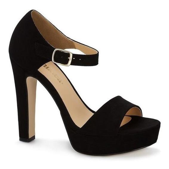 Zapato Andrea Negro Zapatilla Media Plataforma Casual