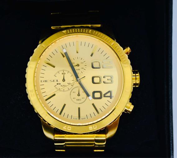 Relógio Diesel Dourado Clássico - Modelo Único Exclusivo