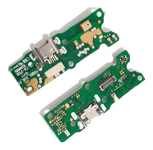 Flex Placa Pin De Carga Para Motorola Moto E6 Play En Full