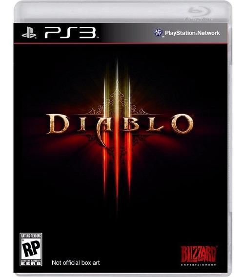 Diablo 3 - Mídia Física / Ps3