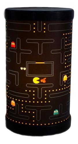 Imagem 1 de 4 de Luminária Abajur De Mesa Lumis Pacman Play Game Jogo Retro