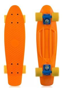 Skate Mini Cruiser Cores Profissional Longboard Modelo Penny