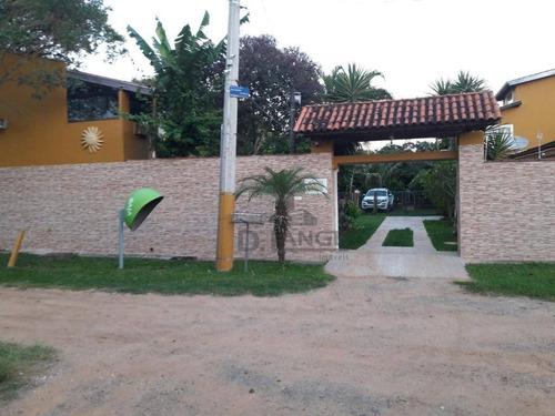 Chácara Com 4 Dormitórios À Venda, 1350 M² Por R$ 850.000,00 - Recanto Dos Dourados - Campinas/sp - Ch0430